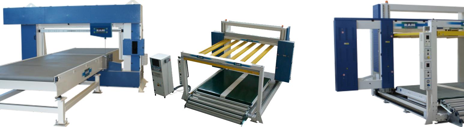 Ram Kontour-Schaum-Schneidemaschine