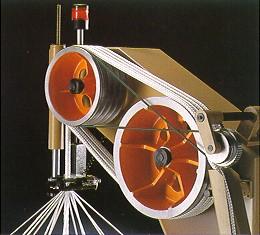 Ratera Detail Abzug Flechtmaschine 208 mm